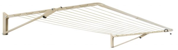 Austral Compact 39 fold down clothesline in Classic Cream