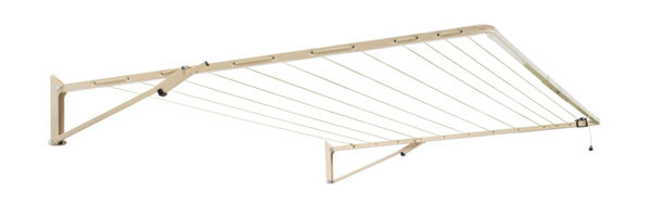 Austral Standard fold down washing line in cream