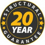 structural warranty on a clothesline from Austral